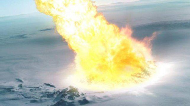 Un meteorito explotó sobre la Antártida hace 430 mil años