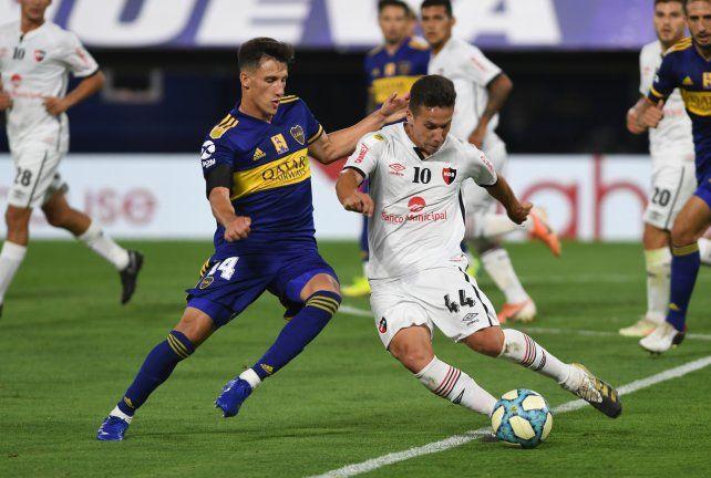 Otra oportunidad. Panchito González podría ser de la partida mañana a la noche ante el granate en el Coloso.
