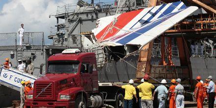 Son 43 los cuerpos rescatados por los brasileños y 6 los encontrados por franceses