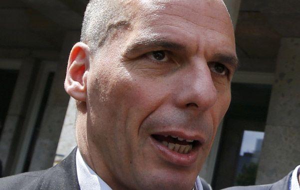 frontal. Varoufakis atacó a fondo a las instituciones acreedoras.