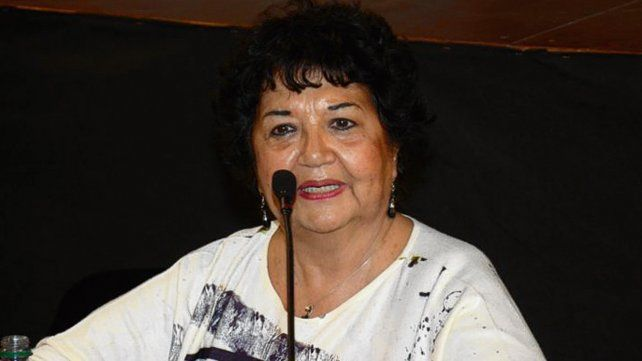 Dora Barrancos disertó en el marco del congreso de Humanidades.