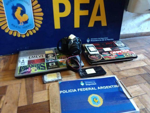 Dos detenidos en Santa Fe implicados en una red internacional de pedofilia