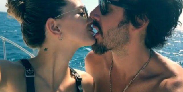 La China Suárez y Benjamín Vicuña se filmaron a los besos y en cámara lenta