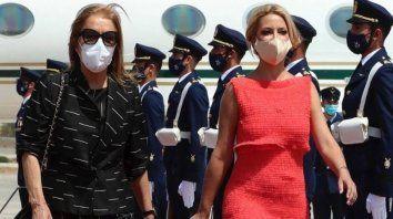 Fabiola Yañez quedó en la mira de los tuiteros que plantearon la duda sobre si la primera dama está embarazada.