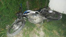 El accidente de tránsito se produjo en calles 141 y Palestina, jurisdicción de la comisaría quinta, en Paraná