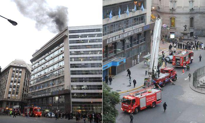 Se incendió el edifico porteño del Indec pero no se registraron heridos ni afectó documentos