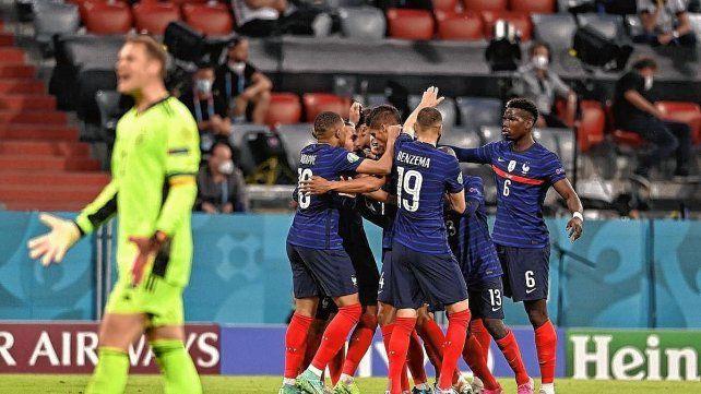 El partido enfrentó a los últimos dos campeones del mundo: Francia (en Rusia 2018) y Alemania (en Brasil 2014). El encuentro finalizó con victoria para los franceses por 1 a 0.