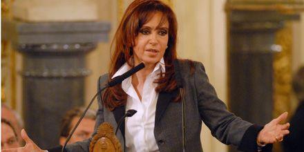 Cristina: las retenciones siguen pero ahora serán discutidas en el Congreso