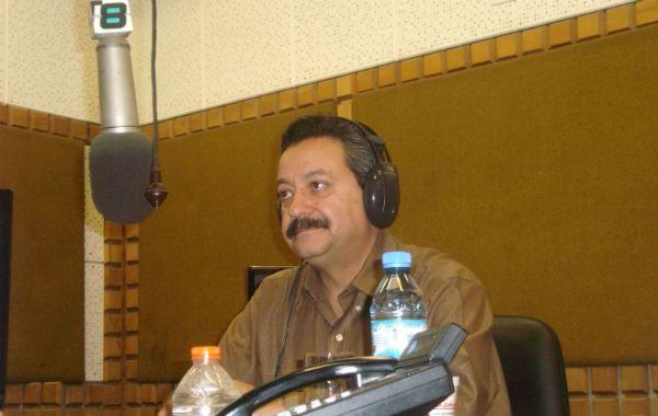 El especialista mexicano durante su paso por el estudio de La Ocho
