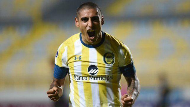 Zabala marcó el tanto del empate en suelo chileno.