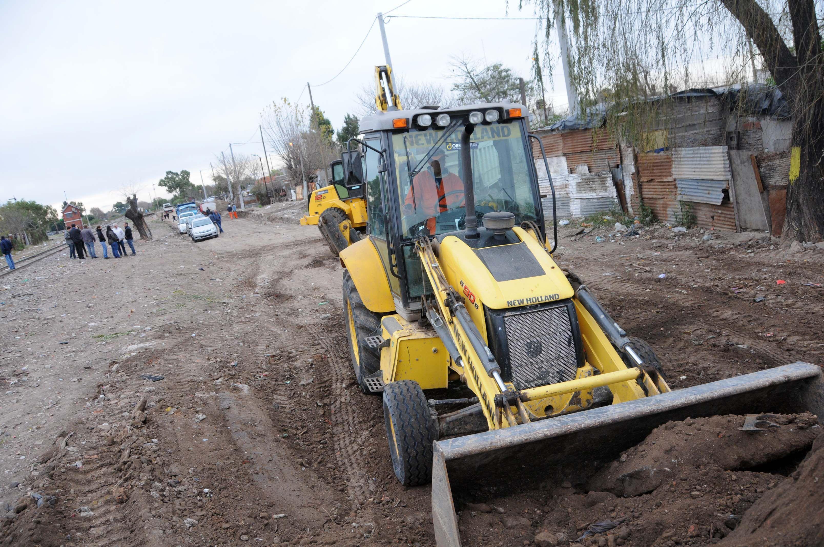 Nuevas arterias. En el barrio de la zona norte se abrieron calles que brindan una mayor conectividad.