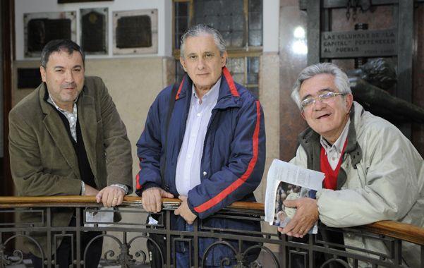 Organizadores. Rubén Montapponi