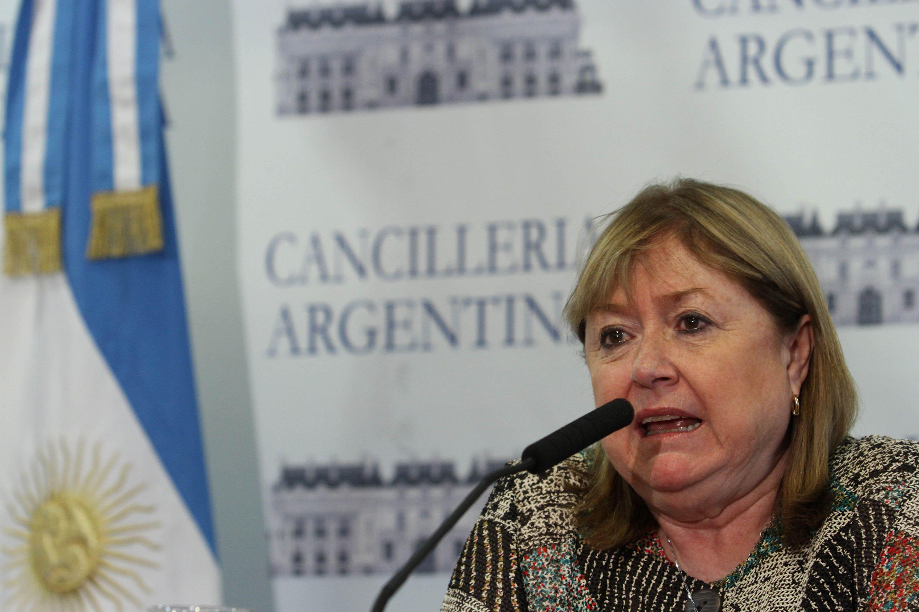 Susana Malcorra señaló que está en contacto con sus pares. Podrían hacer una teleconferencia.