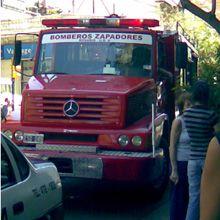 Un incendio en Corrientes y 9 de Julio fue extinguido rápidamente por los bomberos