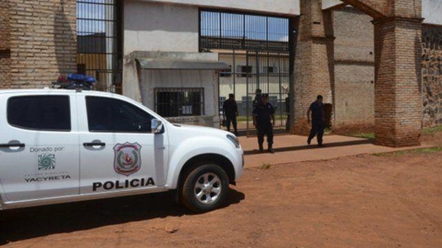 Sospechas. La cárcel de Pedro Juan Caballero está muy cerca de la frontera con Brasil.