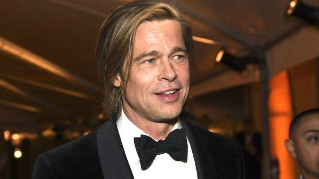 Brad Pitt revolucionó las redes sociales con un particular video