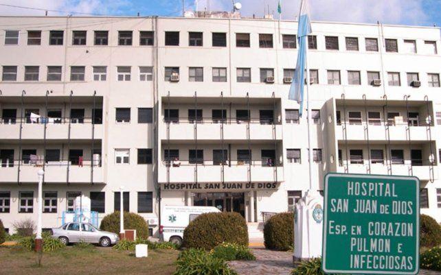 El hospital de La Plata donde hace dos días no llega ningún paciente con Covid-19.