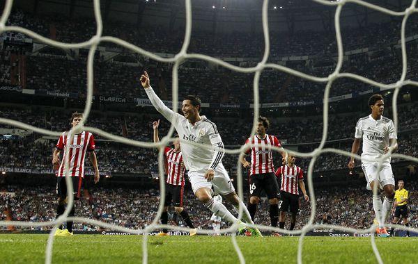Tres más. Cristiano Ronaldo en una imagen repetida.