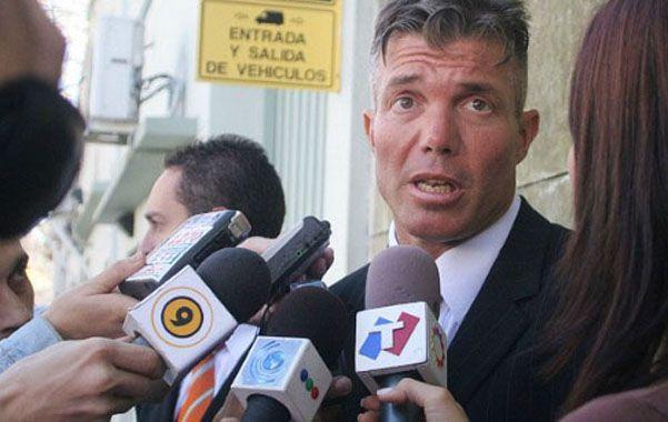 Letrado. El mediático abogado Burlando asesora a Khalil y Esteche.