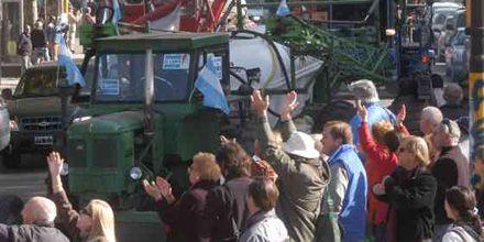 El campo confirmó en San Francisco el acto del 25 de mayo en Rosario