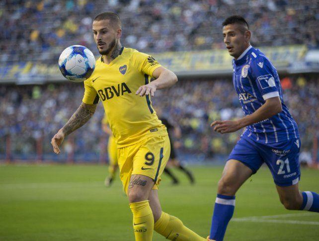 Pipa. Benedetto es la principal carta gol que tiene el xeneize.