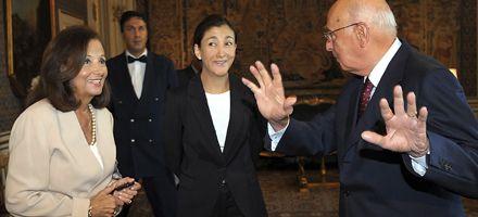 Ingrid Betancourt pidió en Roma un espacio político para las Farc