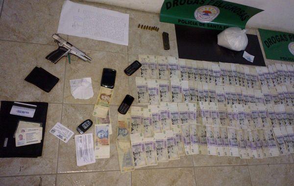 La sustancia secuestrada a Ascaíni era una mezcla de azúcar y anestésicos con bajo porcentaje era cocaína. (Foto: gentileza El informe de Venado Tuerto)
