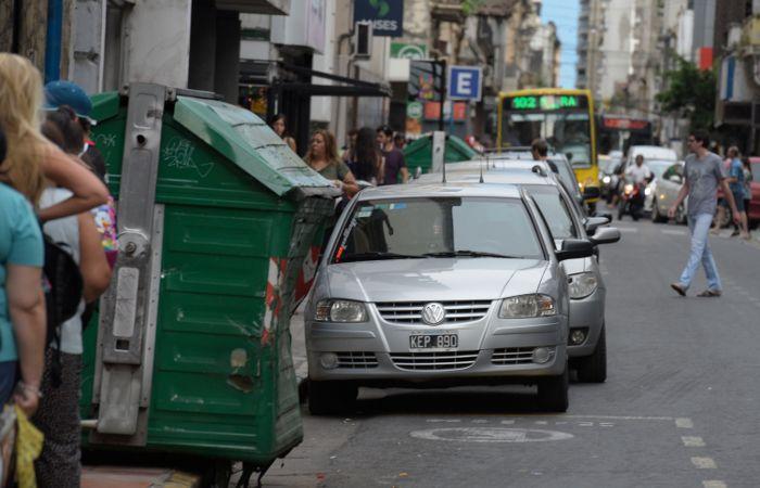 En el centro rosarino bajó la tasa de desocupación de locales comerciales. (foto archivo: Alfredo Celoria)