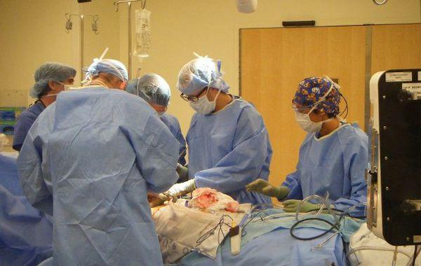 La intervención quirúrgica se realizó en 2012
