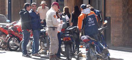 Intensificarán los controles ante el incremento del parque de motos