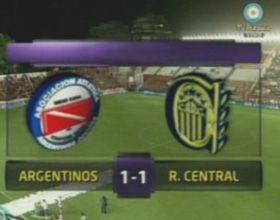 Central cosechó un buen punto contra Argentinos en La Paternal