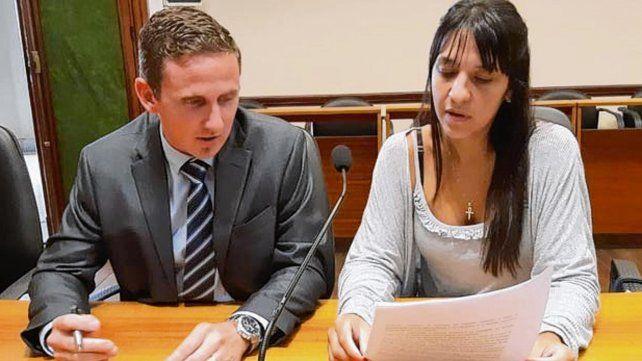 Los fiscales. Olcese y Del Río Ayala estuvieron en el debate.