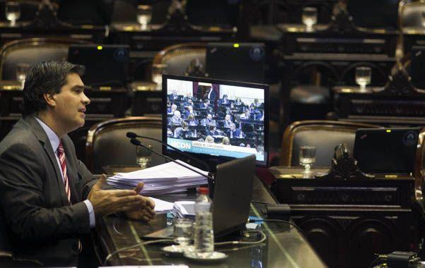 Bancas vacias. Capitanich es el primer jefe de Gabinete que cumple a rajatabla con su obligación de informar.