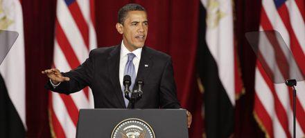 Obama se acerca al mundo musulmán y apoya la creación de un estado palestino