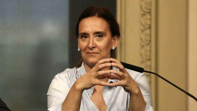 La vicepresidenta Gabriela Michetti.
