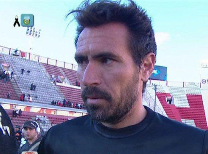 Eduardo Domínguez tiene 37 años y hoy dirigió su primera práctica.