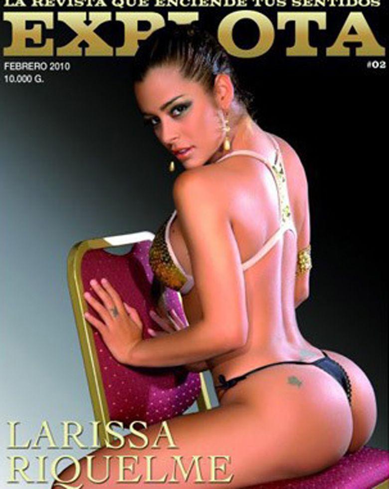Larissa Riquelme dijo que ya tiene las fotos de su desnudo y sigue sumando fama