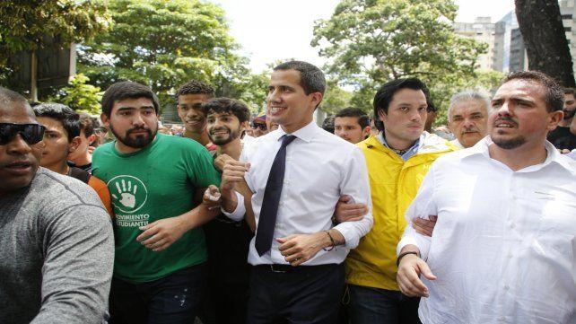 Referente. Guaidó logró galvanizar a la oposición