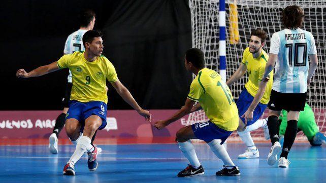 Argentina enfrenta a Venezuela con miras al Mundial de futsal
