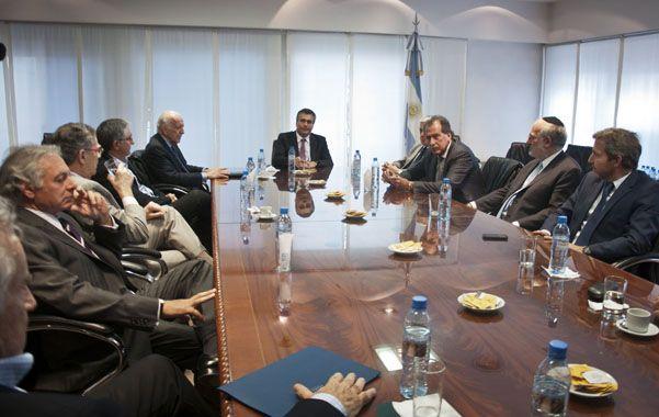 Primer encuentro. Los banqueros escucharon de boca de Vanoli las medidas que adoptará la autoridad monetaria.