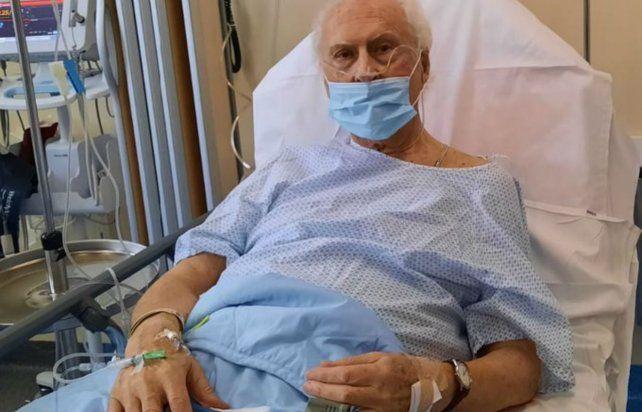 Pino Solanas está internado con coronavirus en París