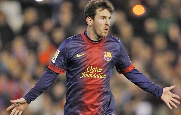Imparable. Messi convirtió el penal y sumó 34 goles en el torneo.