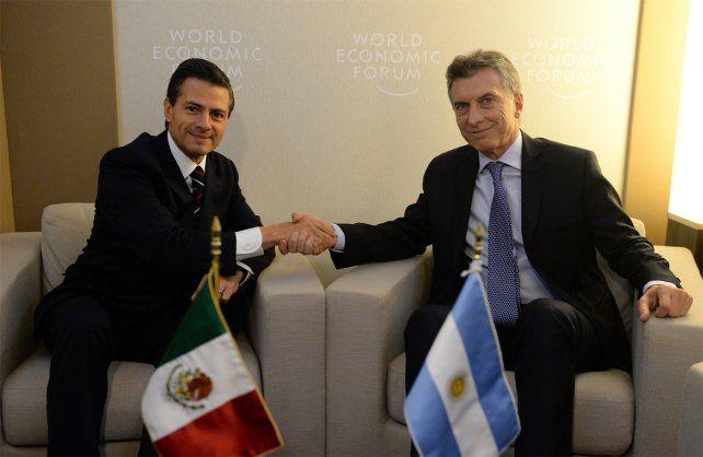 Macri se solidarizó con Peña Nieto a través de un llamado telefónico.