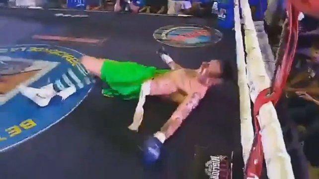 El exarquero Pablo Migliore sufrió su primera derrota como boxeador