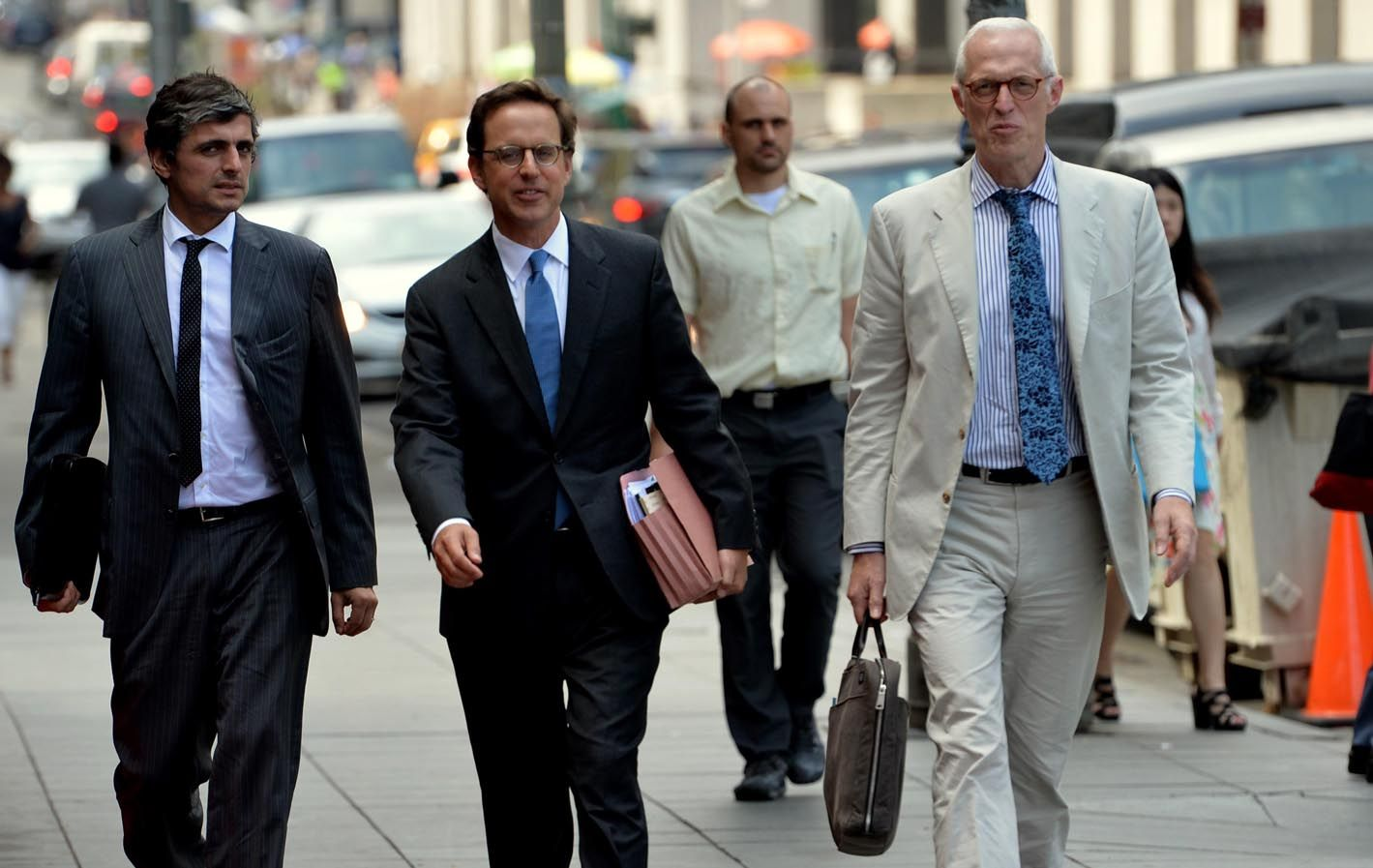El magistrado encabezó una audiencia de una hora veinte minutos con abogados de la Argentina