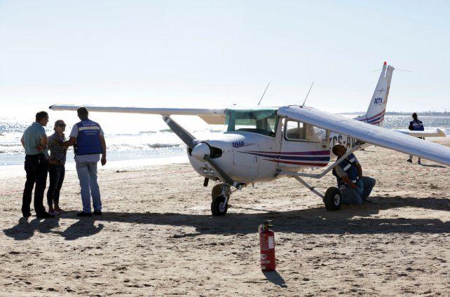 Sao Joao. El avión mató a un hombre y a una niña de ocho años.