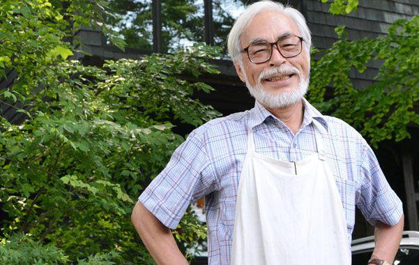Miyazaki se jubila contento.