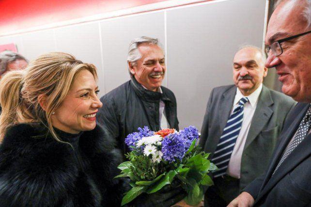 El presidente Alberto Fernández llegó a Berlín para reunirse con la canciller alemana
