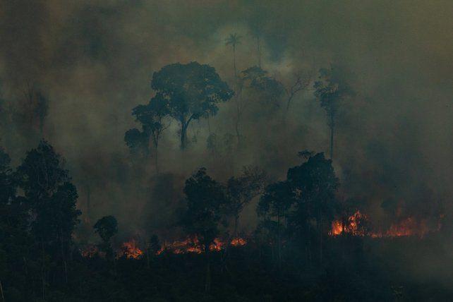 Bolsonaro consideró superada la crisis por los incendios en la Amazonia