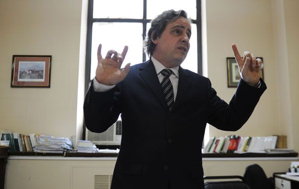 Anticipó su opinión. La Cámara analizó entrevistas que dio Beltramone ante distintos medios de comunicación.